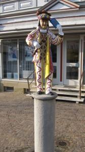 Narrenbrunnen am Schömberger Marktplatz