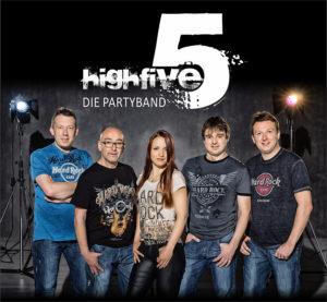 Highfive Partyband bei der Schömberger Hüttengaudi 2017