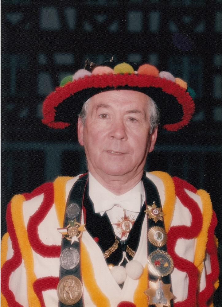Ehrenzunftmeister Emil Riedlinger