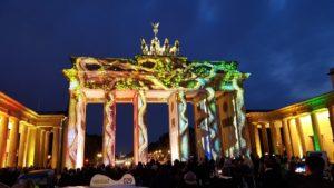 Festival of Lights am Brandenburger Tor