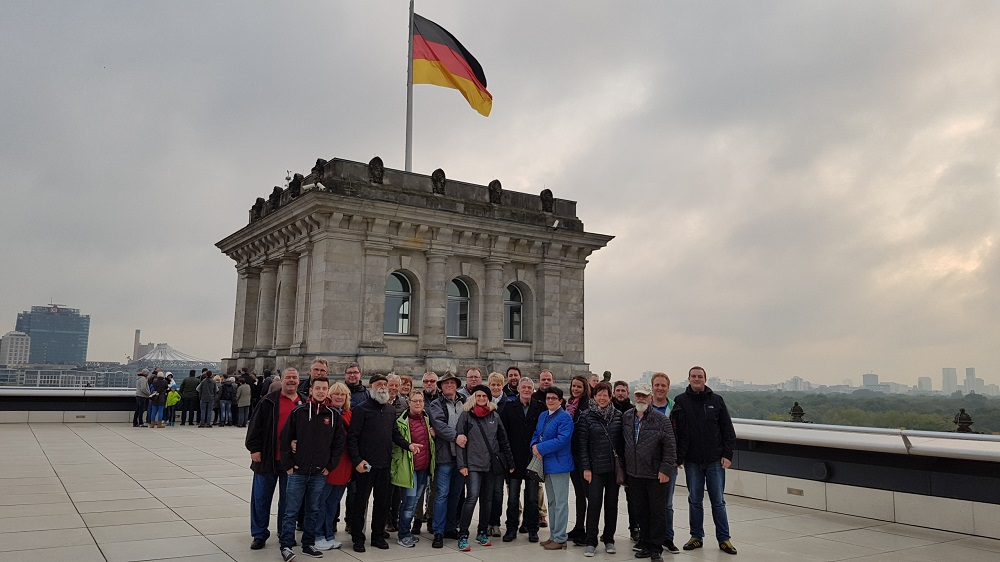 Gruppenbild des Narrenzunft Ausflug 2016
