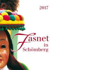 Fasnetsflyer 2017 der Narrenzunft Schömberg