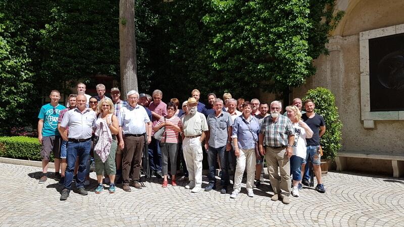 Narrenzunft Schömberg Gruppenfoto Juni 2017