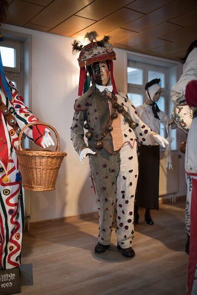 Alter Halbschwarzer Narrenmuseum Schömberg.