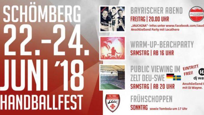 Handballfest Schömberg 2018