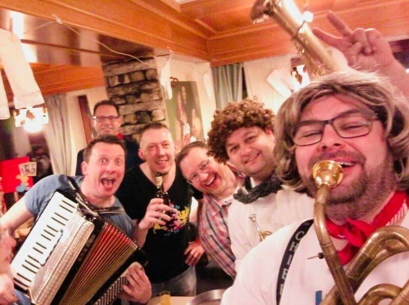 Husarenmusik Narrenzunft Schömberg