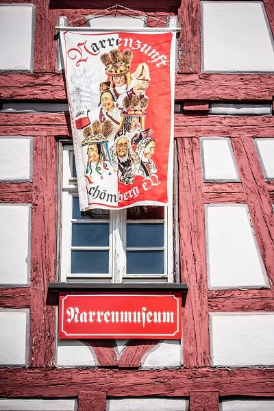 Narrenmuseum Schömberg Alte Schule
