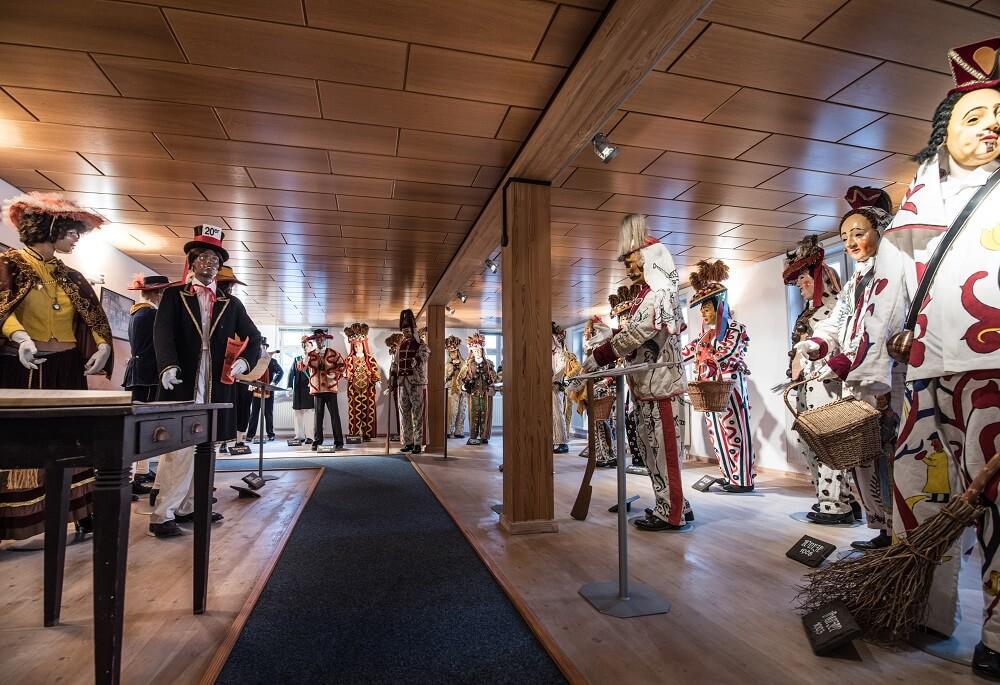 Großer Saal Narrenmuseum Schömberg