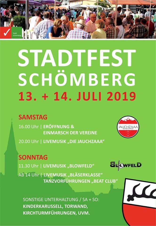 Stadtfest Schömberg Zollernalbkreis 2019